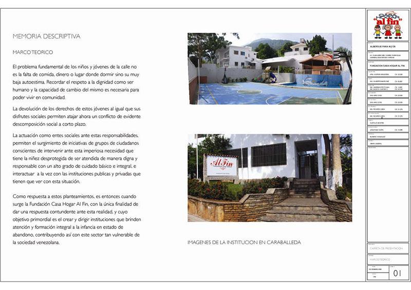 Proyecto construcción de atención integral