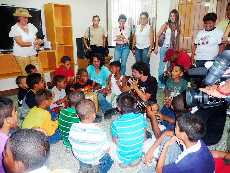 Visita al Centro «Al Fin»: Servando y Florentino
