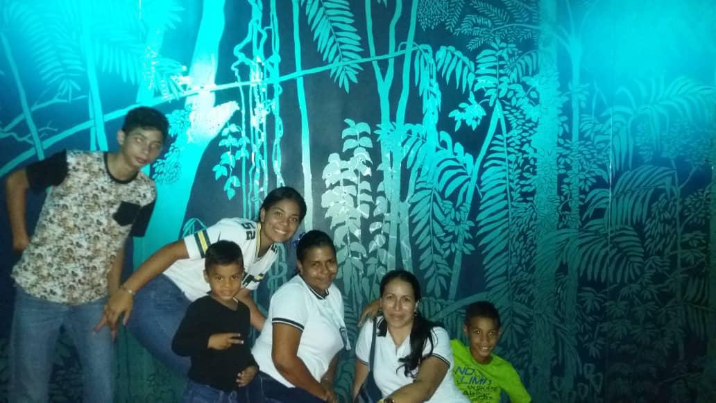 Los niños de la Casa Hogar Al Fin visitan el Museo de los Niños en Caracas