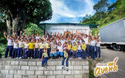 """Fundación """"Mi Avena"""" apoya a las escuelas de Venezuela"""