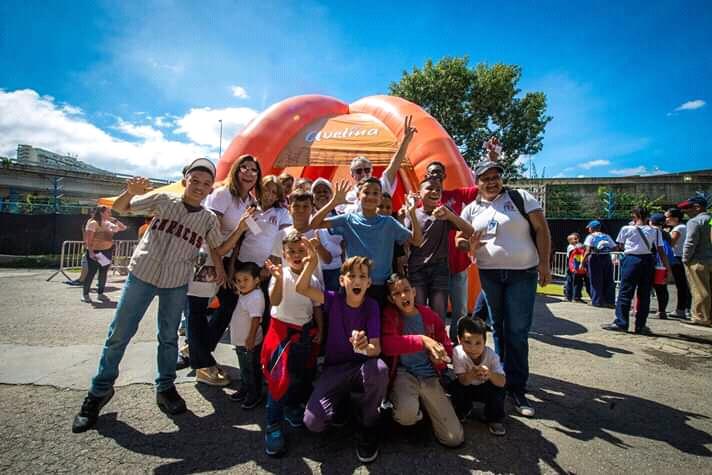 Los niños de Casa Hogar «Al Fin» disfrutaron del béisbol venezolano