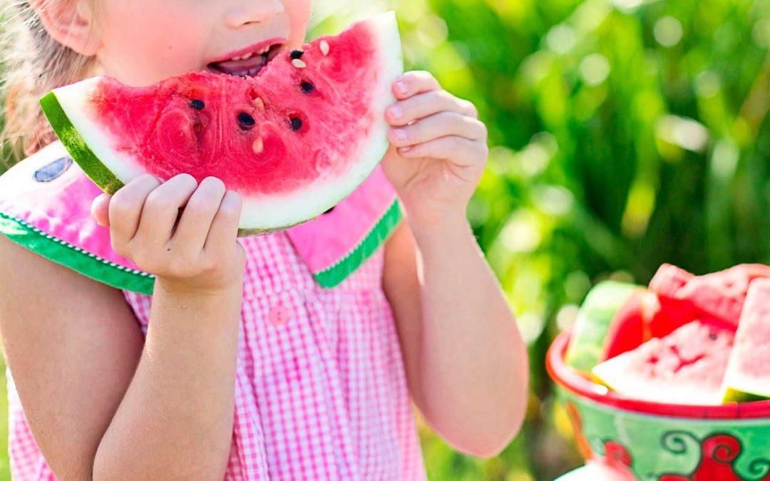 Alimentación sana, crecimiento feliz