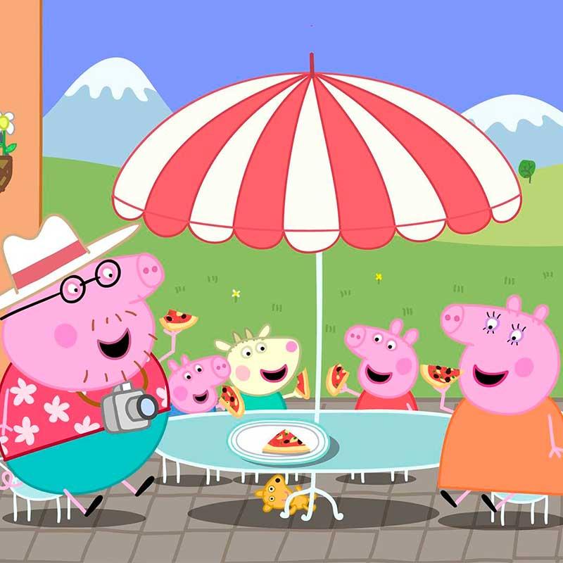 Mauro Libi Peppa Pig - ¿Cómo elegir la mejor serie animada para niños?