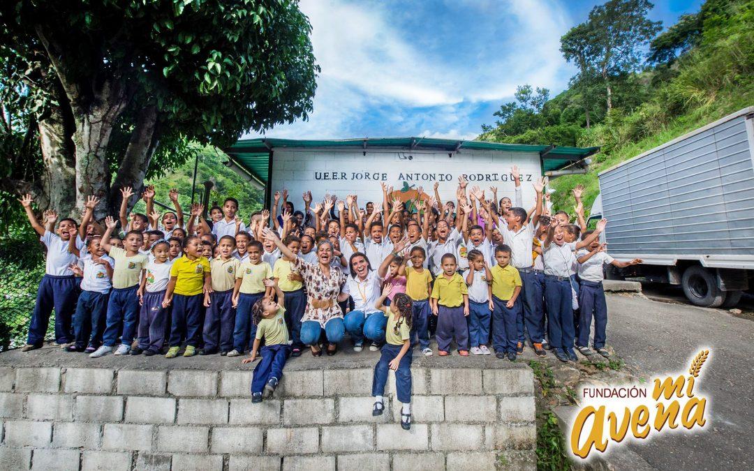 Fundación «Mi Avena» apoya a las escuelas de Venezuela