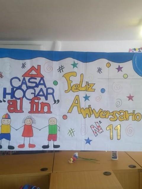 """Fundación """"Casa Hogar Al Fin"""" celebró 11 años en familia"""